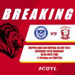 Virtual FA Cup 2021 First Round Proper
