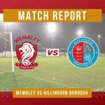 REPORT: Wembley 1-2 Hillingdon Borough