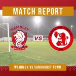 REPORT: Wembley 1-0 Sandhurst Town